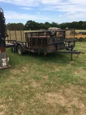Photo Hog/dog trailer