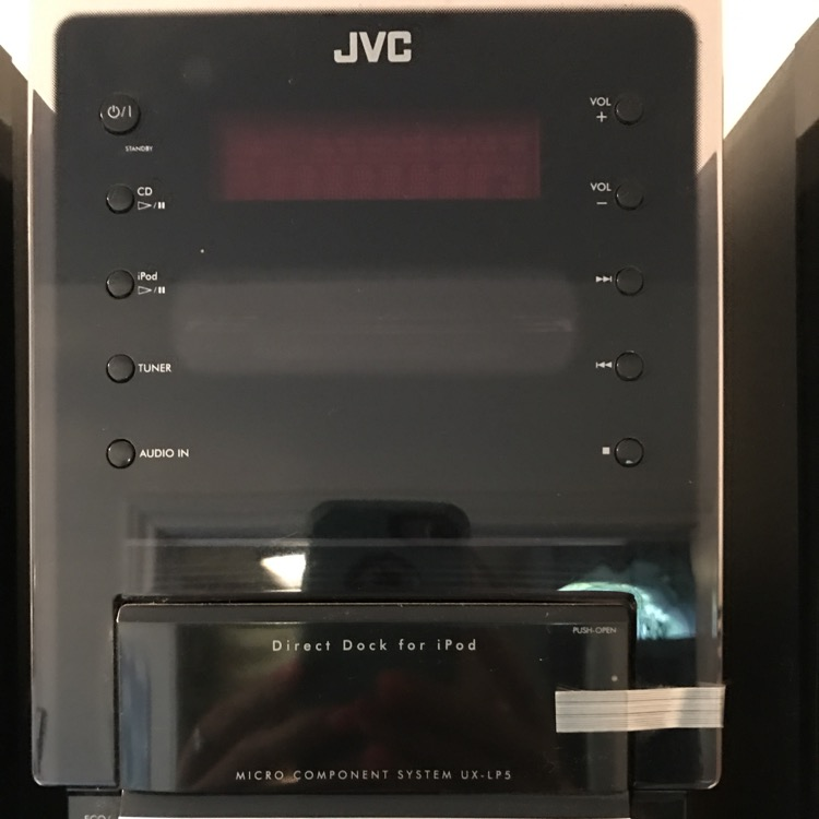 Photo JVC audio system