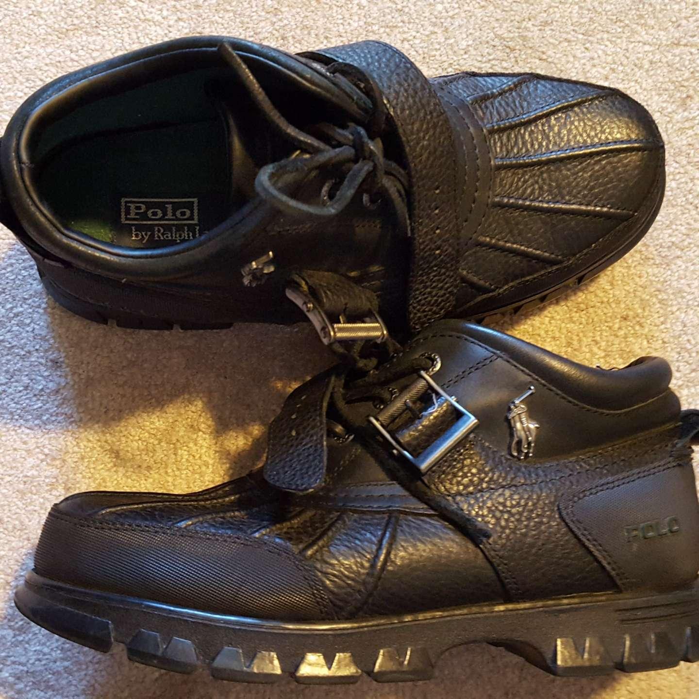 Photo Size 9 Black Polo Ralph Lauren Dover 3 Boots