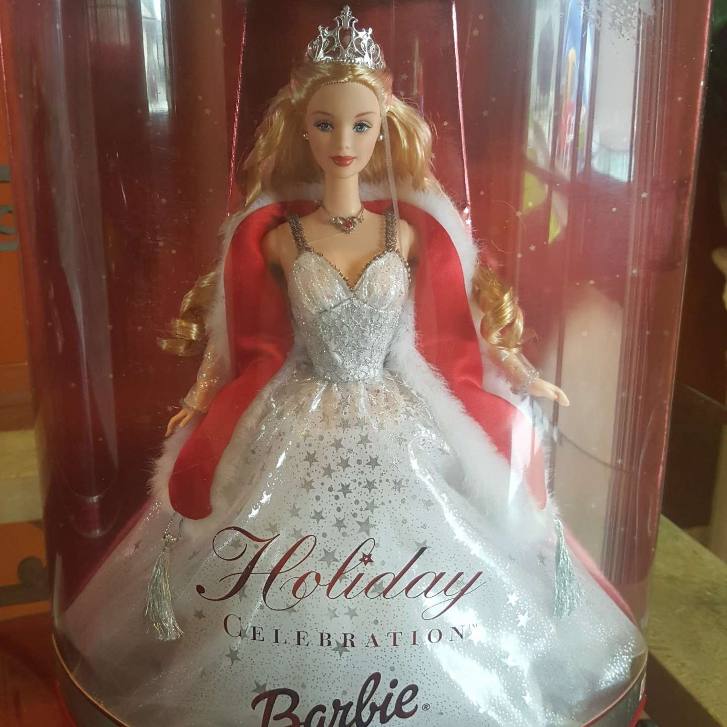 Photo Special 2001 Edition Holiday Celebration Barbie