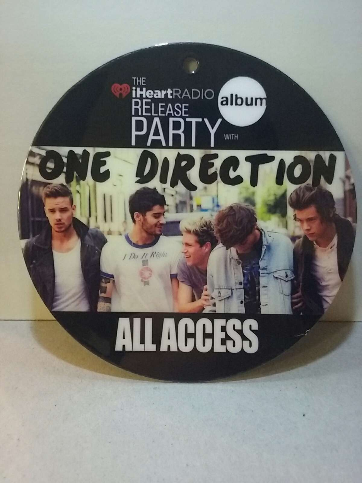 Photo One Direction All Access Laminate Badge VIP Backstage Pass