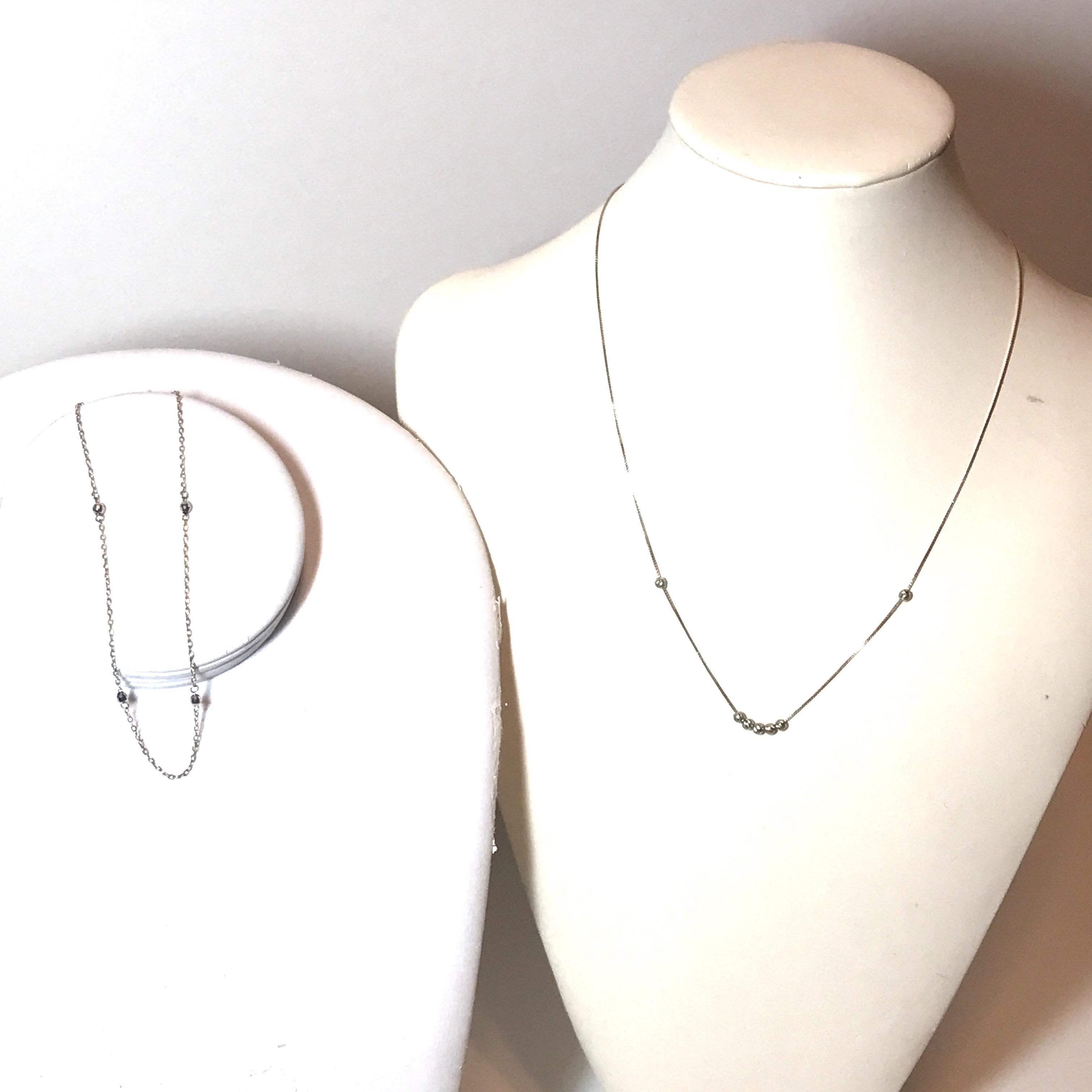 Photo 14k Gold Necklace & Bracelet Set