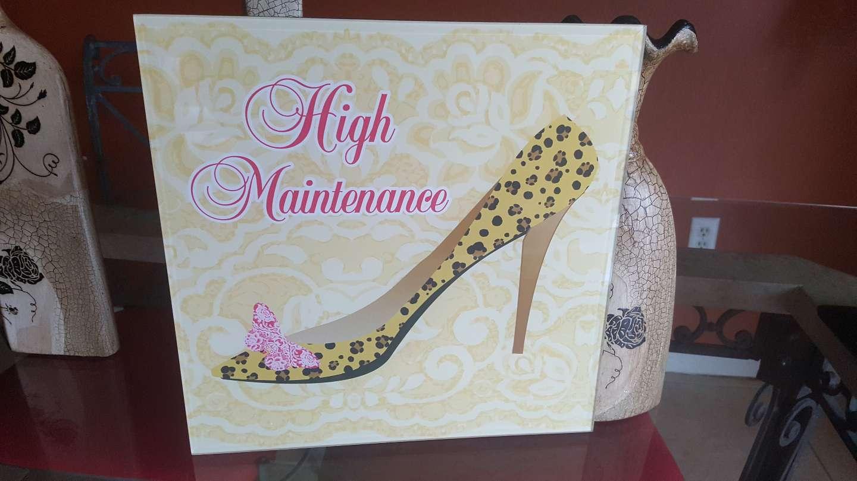 Photo High maintenance, high heels pic.