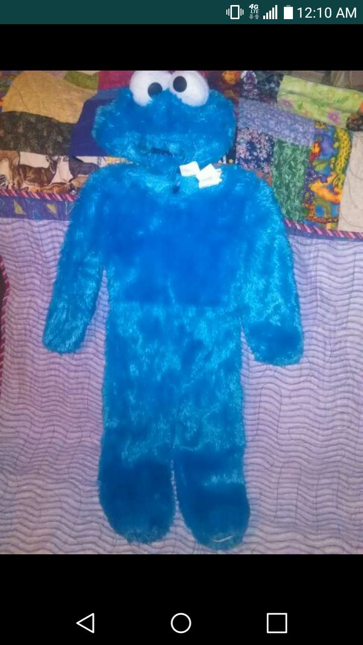 Photo Cookie Monster Costume