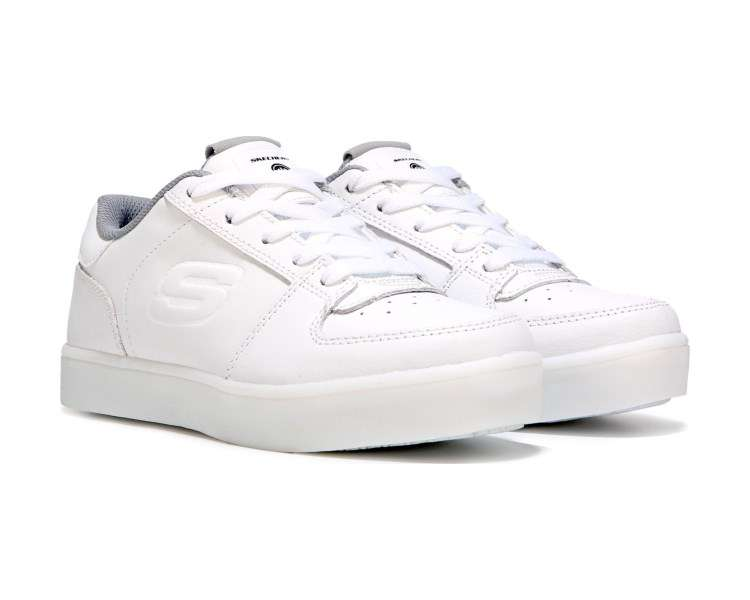 Photo SKECHERS White Low Top Light Up Shoes