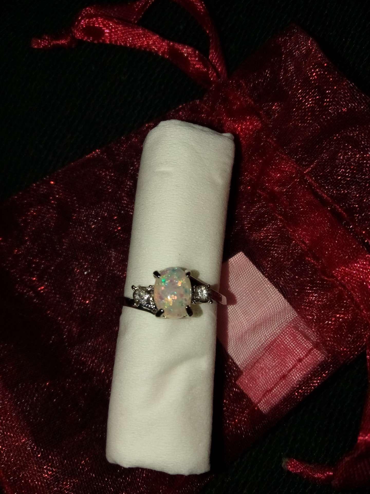 Photo Opal Ring