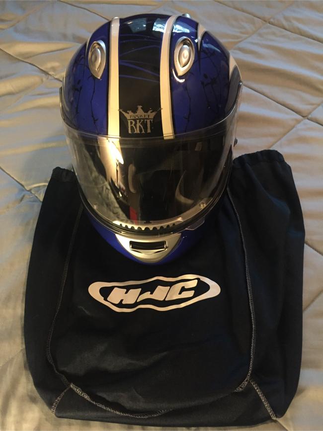 Photo HJC Joe Rocket Motorcycle Helmet