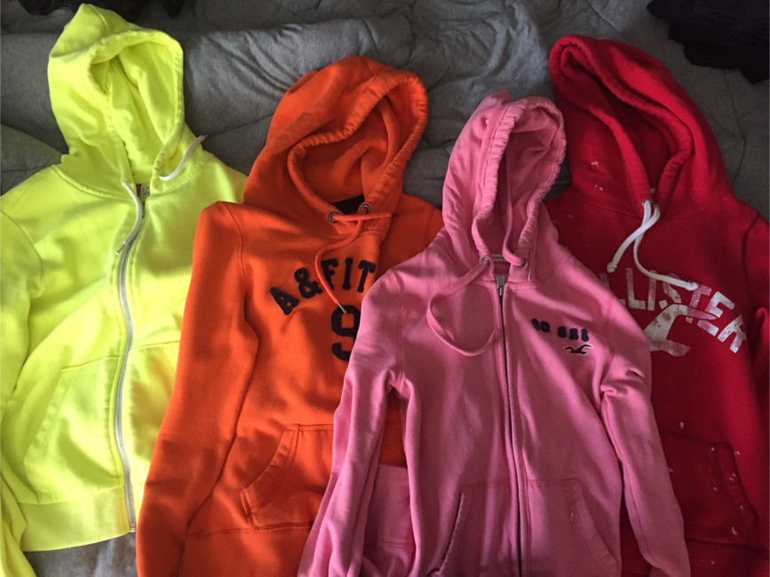 Photo A&F, Hollister, & H&M Sweaters/ Zip Up Hoodies