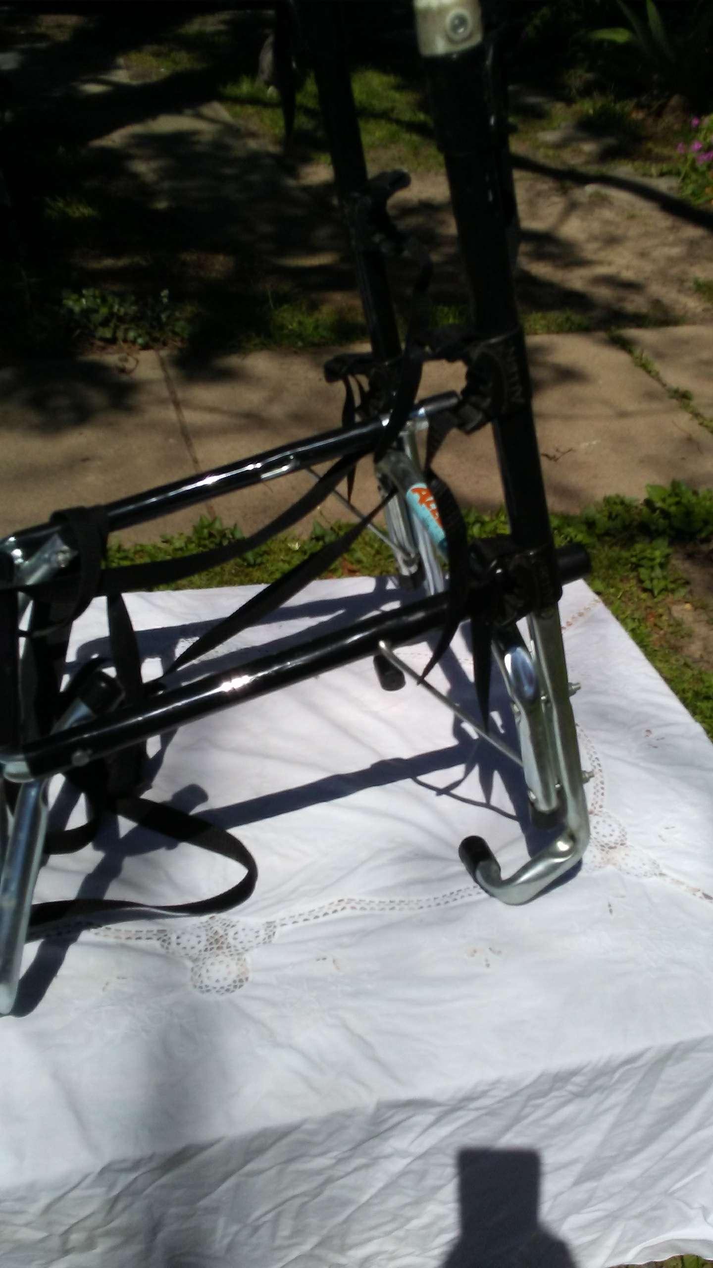 Photo Allen 303D 3-bike spare tire mount rack Jeep SUV NICE!
