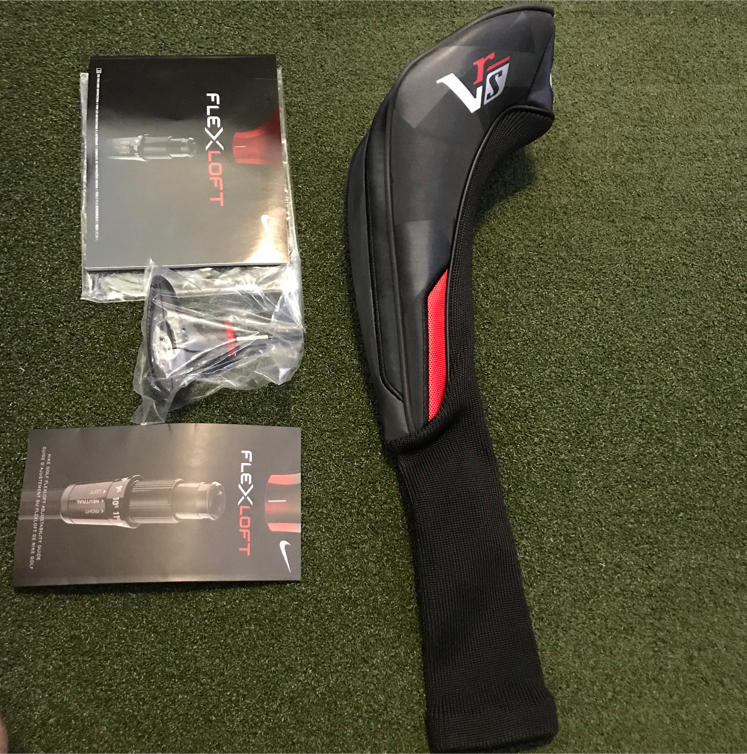 Photo Nike Victory Red Speed (VR-S) Driver Headcover/ Torque Wrench/ Manual Set- Brand New