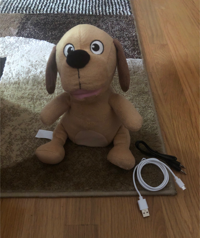 Photo ILive Bluetooth Buddy Dog Speaker, Moves to Music COMPLETE, NEVER USED