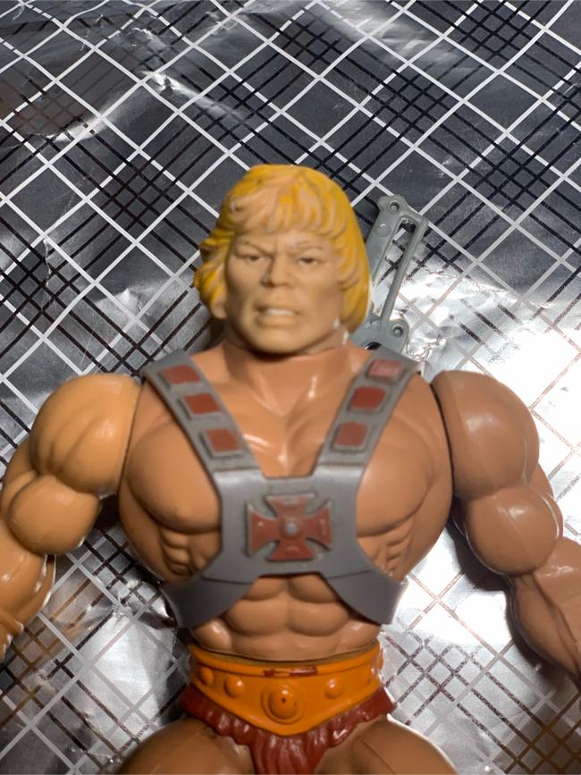 Photo HE-MAN MOTU 1981 Mattel Mexico 🔥RARE🔥