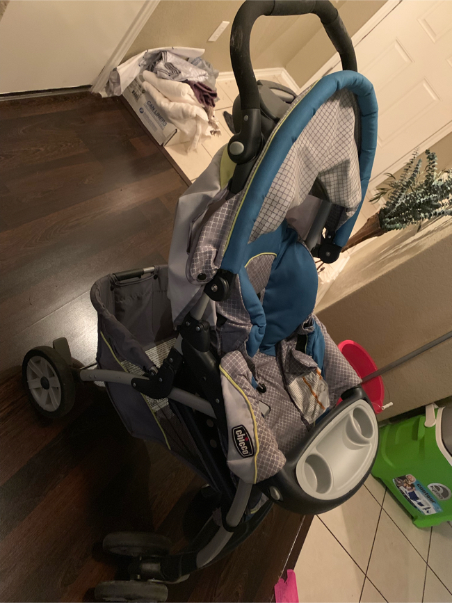 Photo Chicco key fit 30 car seat with stroller