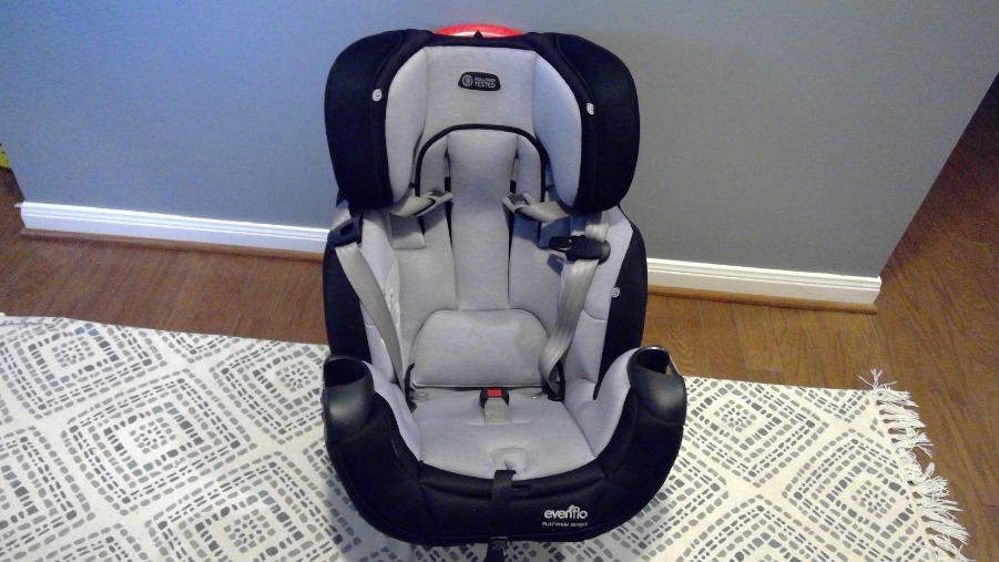 Photo Evenflo Platinum Symphony DLX All-in-One Car Seat