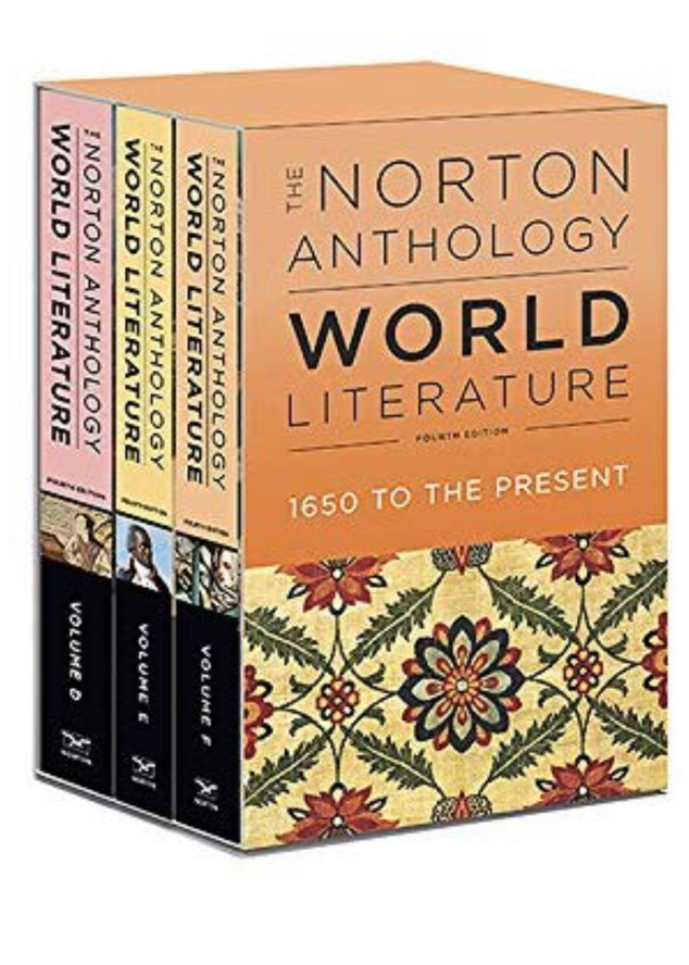 Photo The Norton Anthology of World Literature (Fourth Edition) (Vol. Package 2: Volumes D, E, F)