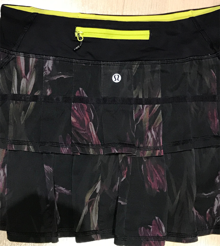 Photo Rare Lululemon Pace Setter Skirt Size 6