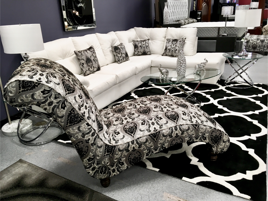 """Photo Cristal Royale """"Custom Made Sectional Sofas Made In Over 500 Colors"""