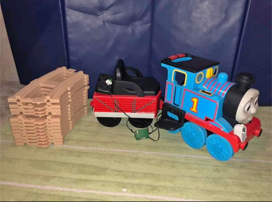 Photo Thomas The Train Ride On (needs battery)