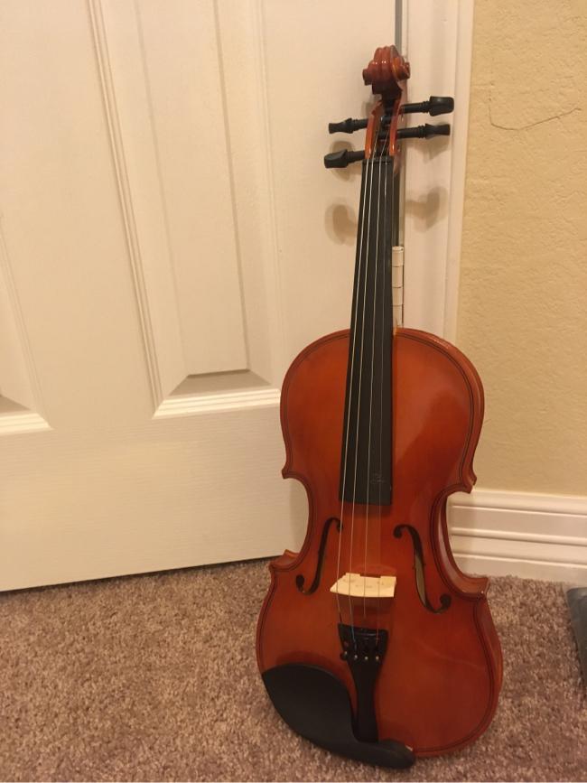 Photo Full size violin