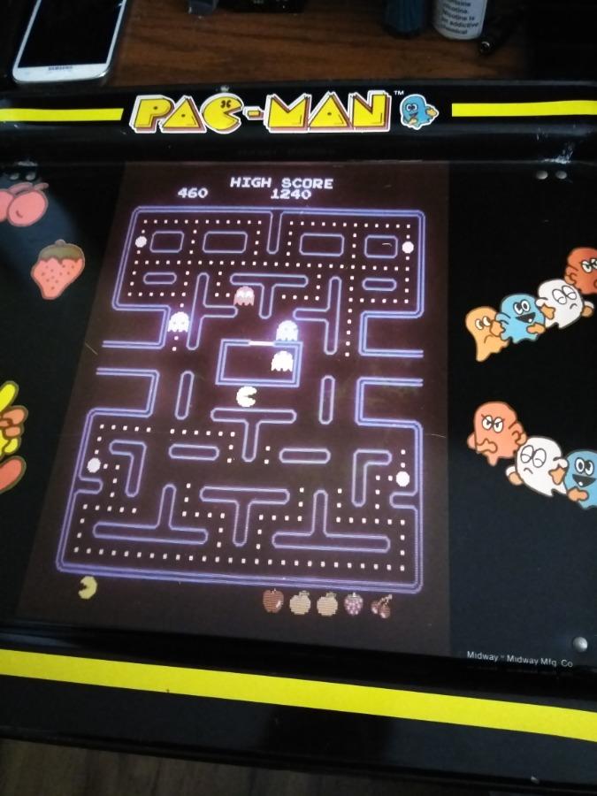 Photo Vintage Pac-Man Food Tray 1980's