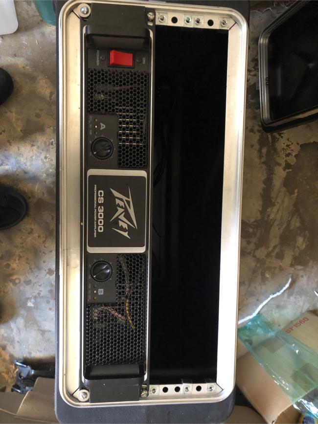 Photo Peavey cs 3000 professional amplifier