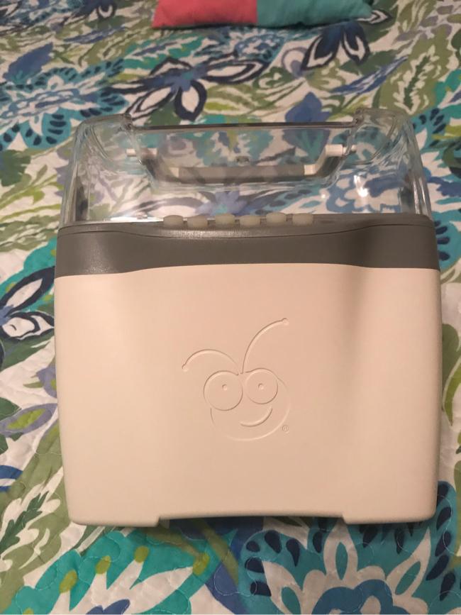 Photo Cricut cartridge juke box with cable