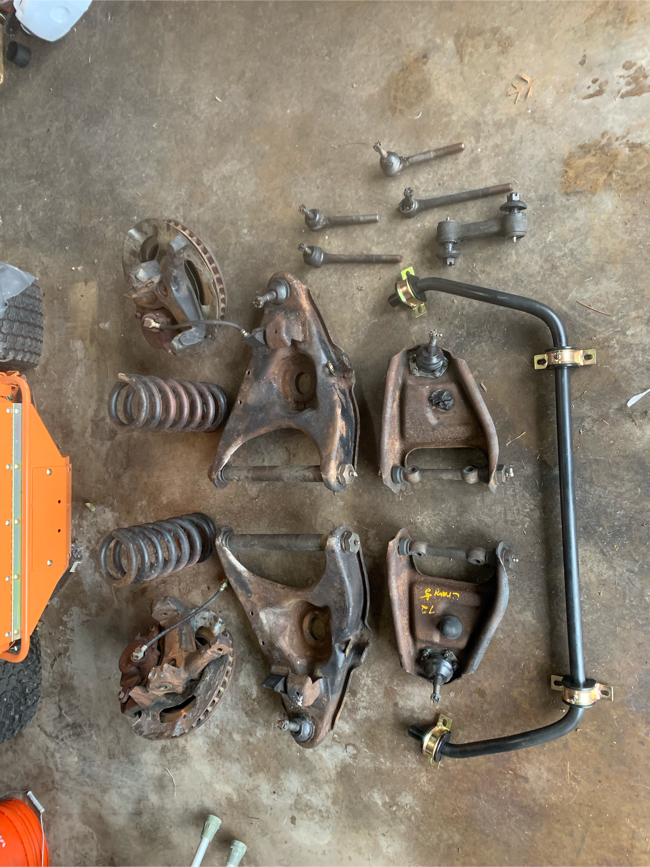 Photo 64-72 Chevy c10 front end assembly
