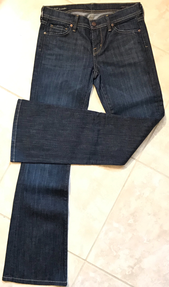 Photo Citizens of Humanity Low Waist Flair Jeans In Size 26