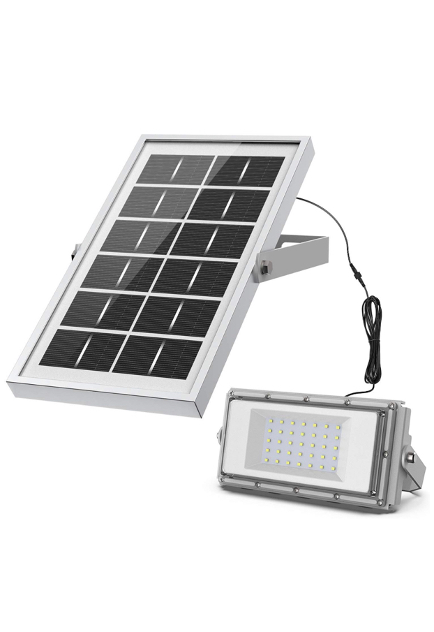 Photo Solar Lights, IP65 Waterproof Outdoor Solar Light, Motion Sensor 4 Optional Luminance, 3 Timing Modes with Remote Control, Easy to Install Security Flood Lights for Front Door,Yard,Garage,Deck