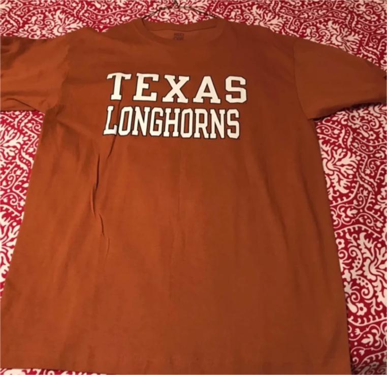 Photo Texas Longhorns Shirt - Size: Large