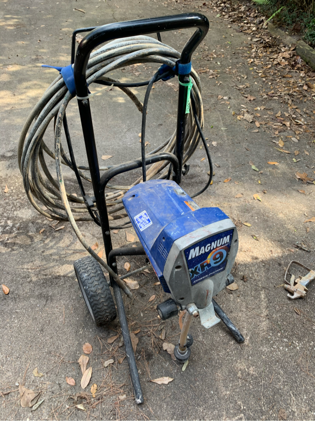 Photo Graco Magnum Pro XR9 Airless Painter