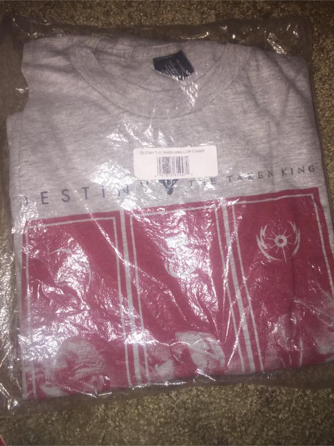 Photo Destiny The Fallen king gray shirt