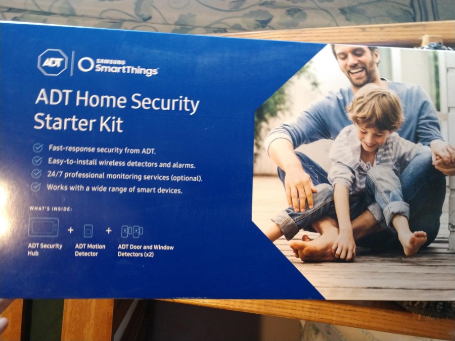 Photo Adt Home Security Starter Kit