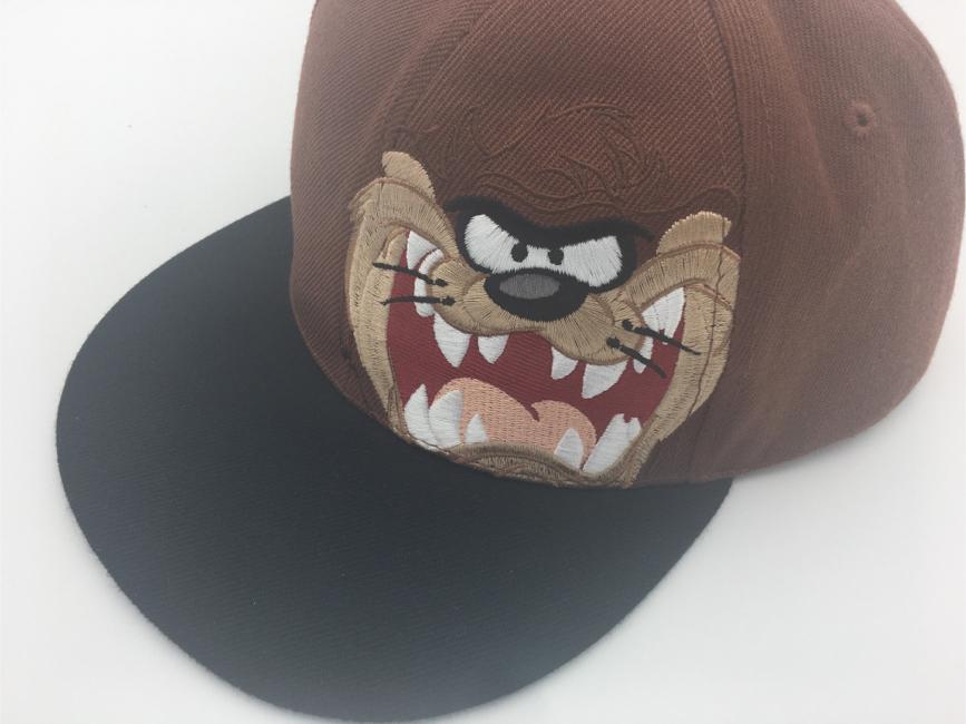 Photo Six Flags Looney Tunes Taz Tasmanian Devil Trucker Snapback Cap Hat