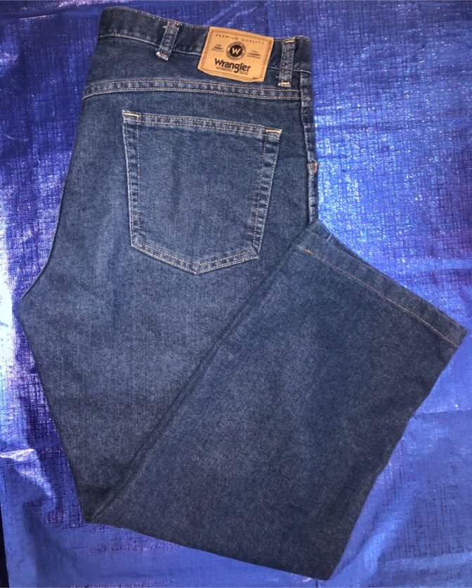 Photo Men's Wrangler Jeans Pants Size 36 X 29 Regular Fit 85900DW (Like New)