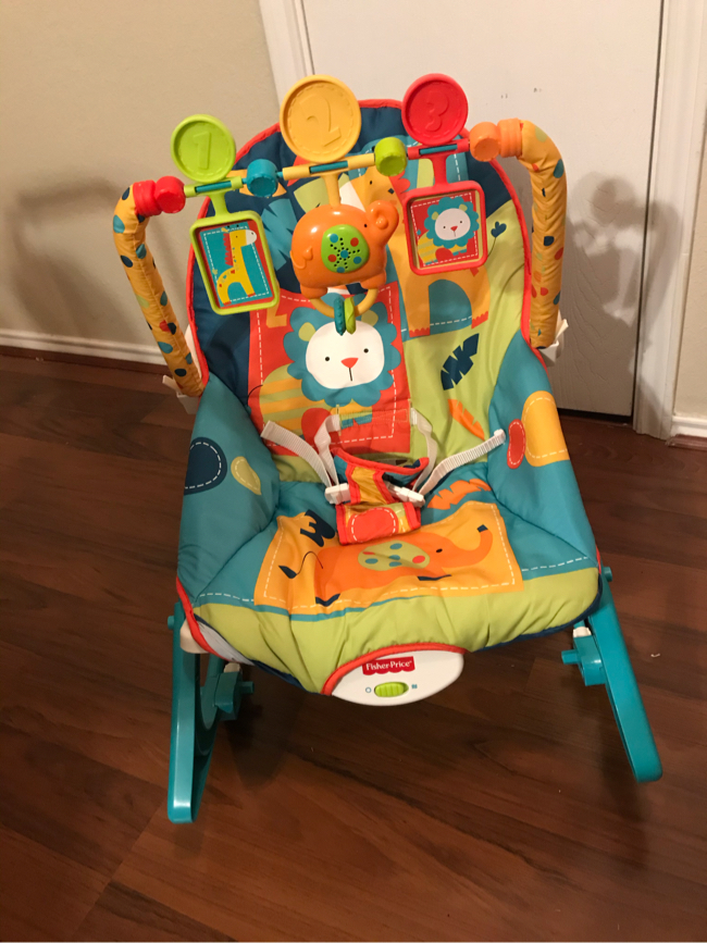Photo Like New - Fisher-Price Infant-to-Toddler Rocker