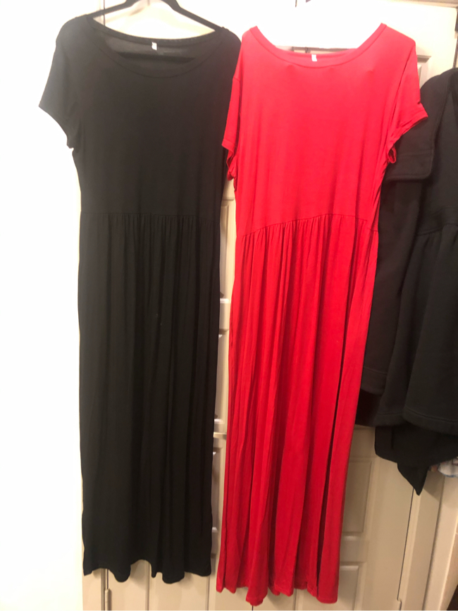 Photo 2 Brand NEW king size XL DRESSES- one red & one black