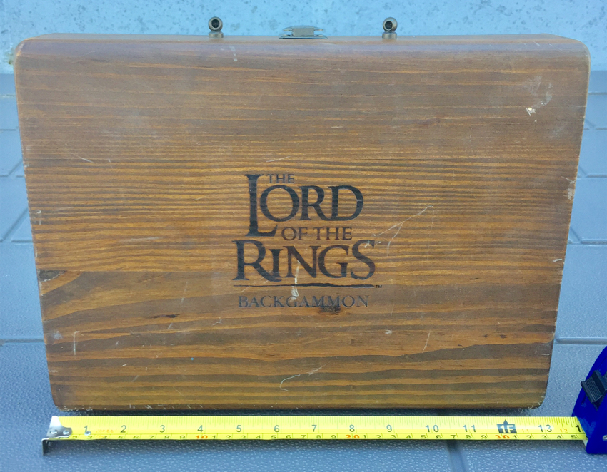 Photo Lord of the Rings Backgammon Game