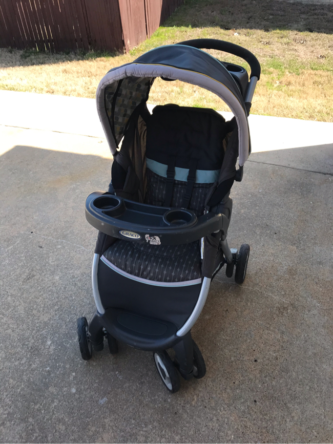 Photo Graco FastAction Fold Click Connect Stroller