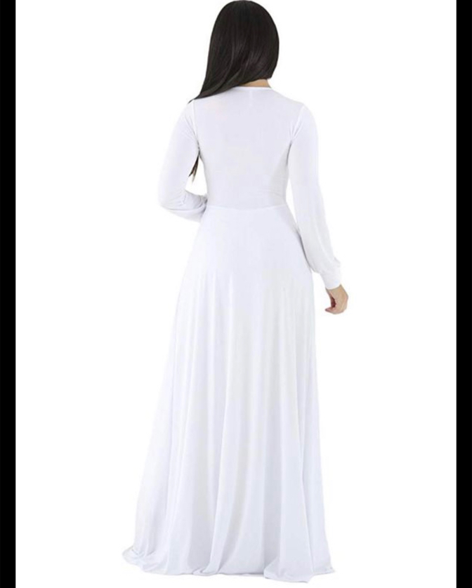 Photo Women white jump suit