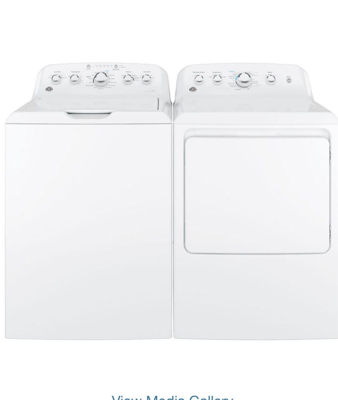 Photo GE Washer and Dryer