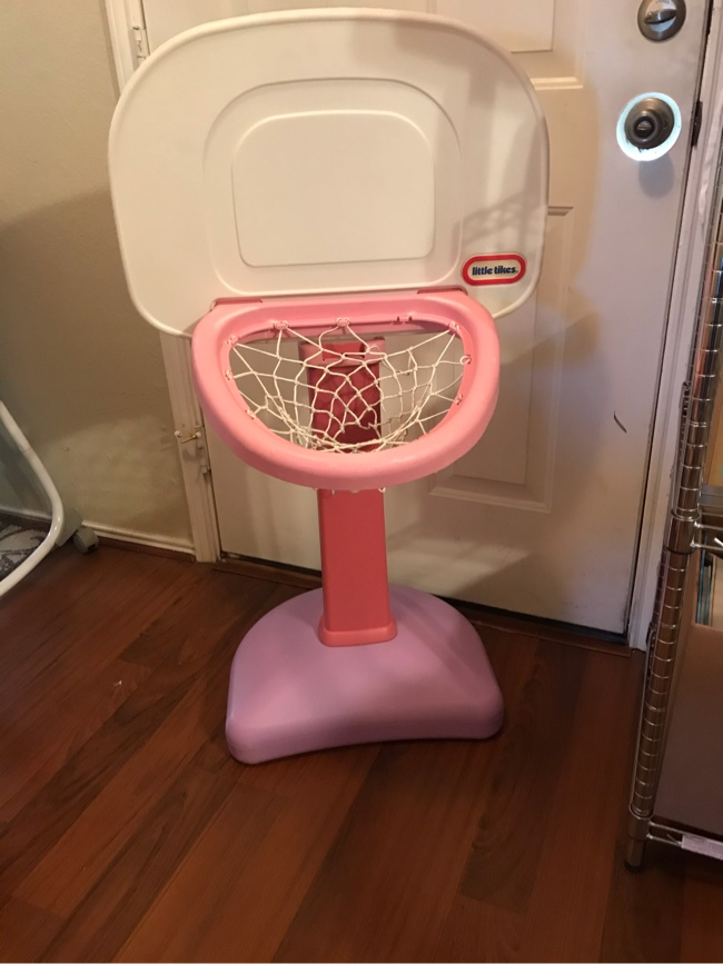 Photo Little Tikes Basketball Goal - Pink