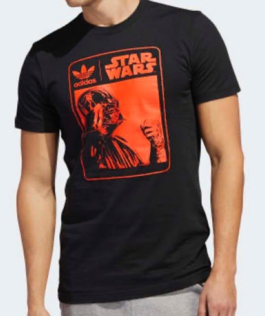 Photo Darth Vader t-shirt (New) Adidas / Star Wars
