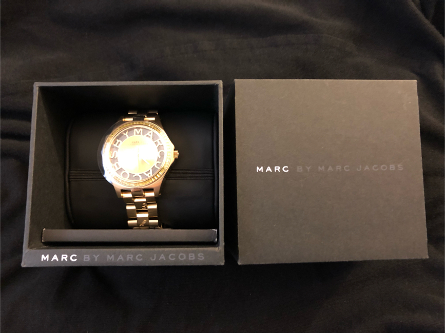 Photo Marc by Marc Jacobs Gold Watch