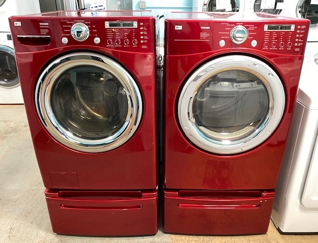 Photo LG front load washer and dryer set 10% off