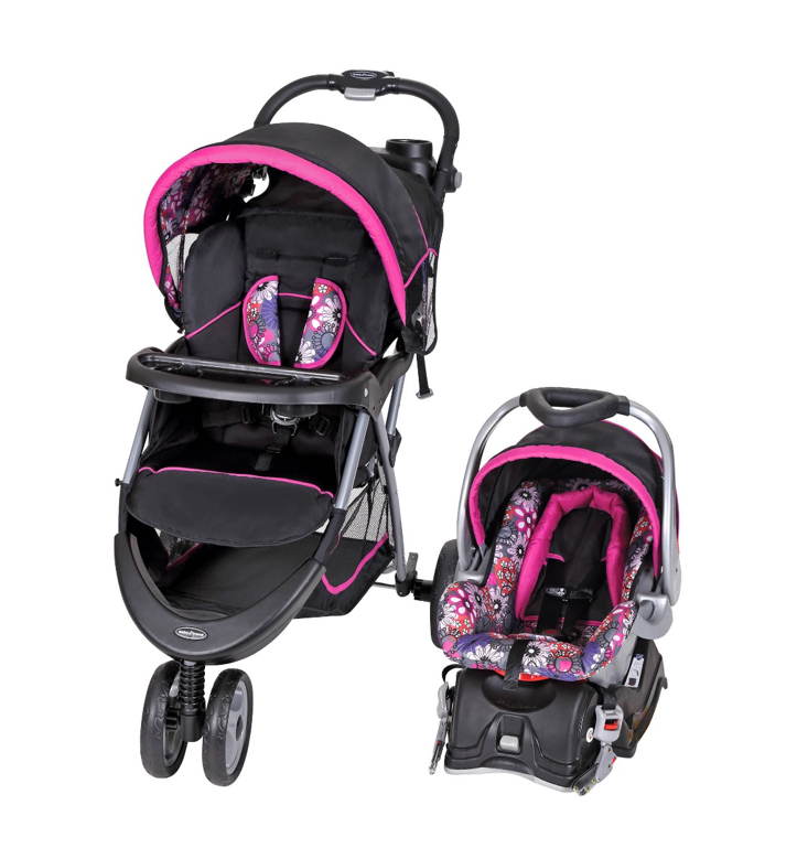Photo New Baby Trend EZ Ride Travel System (Car Seat & Stroller)