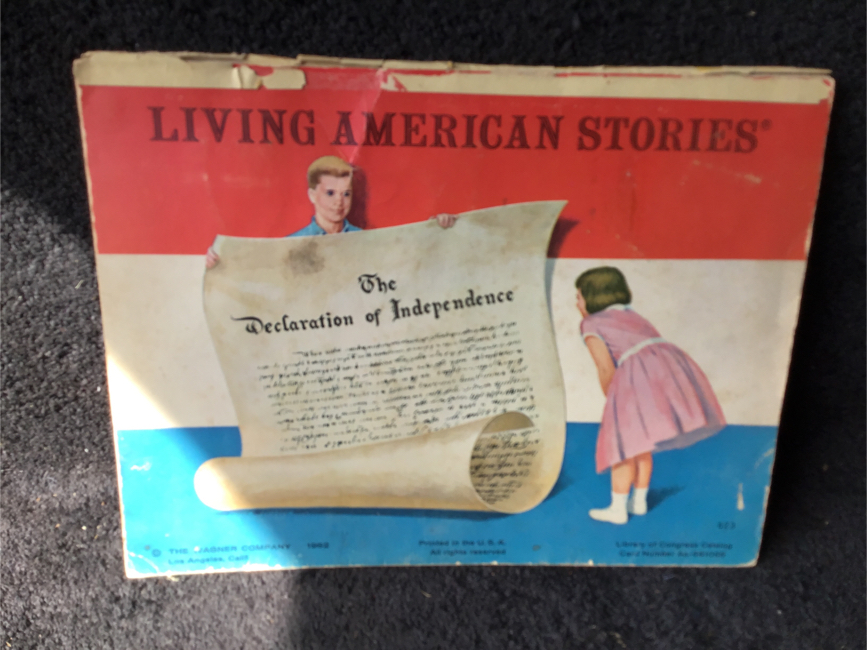 Photo Vintage Pop Up Book Living American Stories