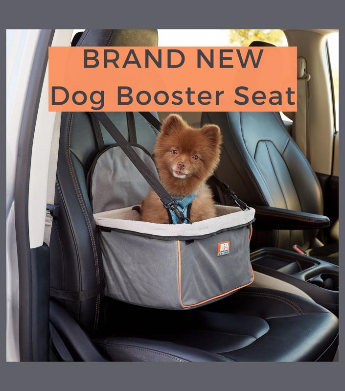 Photo Dog Booster Seat / Dog Car Seat
