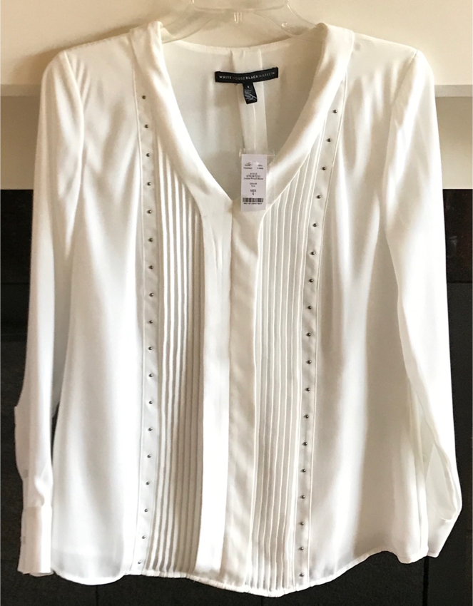 Photo New White House Black Market Top In Size 4