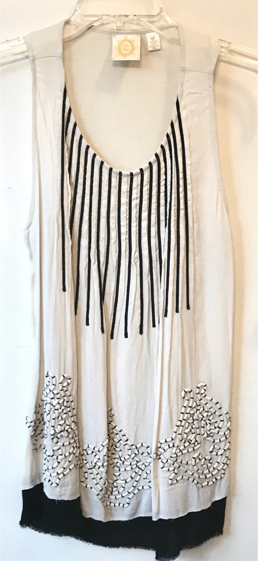 Photo New Anthropologie Ric Rac Sleeveless Top In Oversized Small